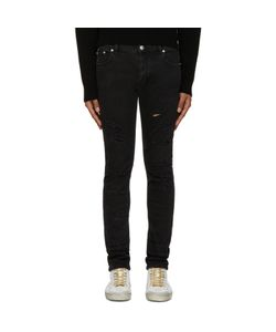 Versus | Black Distressed Jeans