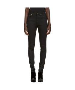 Saint Laurent | Black High-Rise Jeans