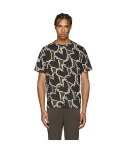 PS PAUL SMITH | Ps By Paul Smith Khaki Hearts T-Shirt