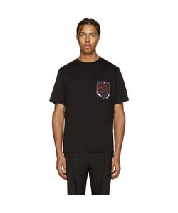 PS PAUL SMITH | Ps By Paul Smith Black Floral Pocket T-Shirt