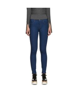 Stella Mccartney | Blue High-Rise Skinny Jeans