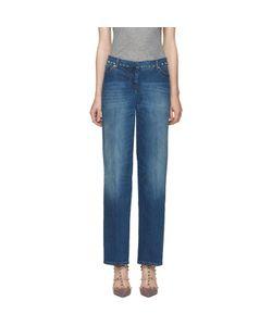 Valentino | Indigo Rockstud Untitled Jeans