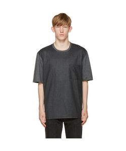 Ami Alexandre Mattiussi | Grey Colorblocked T-Shirt