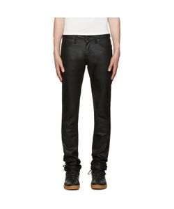 Naked & Famous Denim | Naked And Famous Denim Black Super Skinny Guy Waxed Jeans