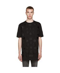 MARCELO BURLON COUNTY OF MILAN | Black Peteroa T-Shirt