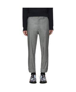 Moncler Gamme Bleu | Grey Cropped Trousers