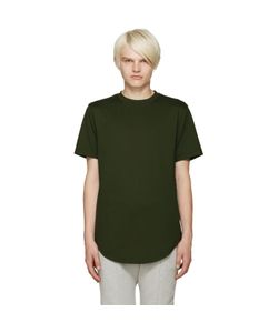 Pyer Moss | Green Zipper T-Shirt
