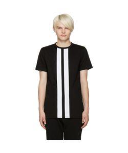 Pyer Moss | Black Stripe T-Shirt