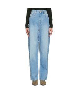 Isabel Marant Étoile | Isabel Marant Etoile Blue Corby Jeans
