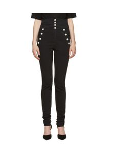 Isabel Marant | Black High-Rise Marvin Jeans