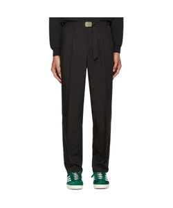 TOGA VIRILIS | Black Chino Trousers