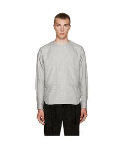 TOGA VIRILIS | White Pocket Shirt