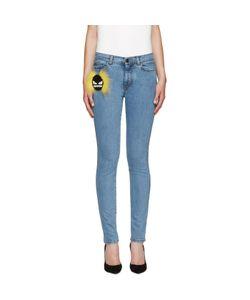 Fendi | Blue Wonder Monster Jeans