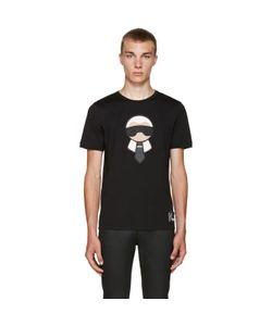 Fendi | Black Karlito T-Shirt