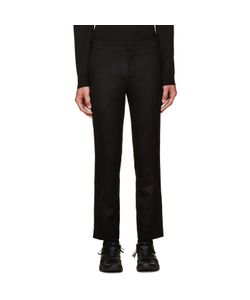 Wooyoungmi | Black Wool Trousers