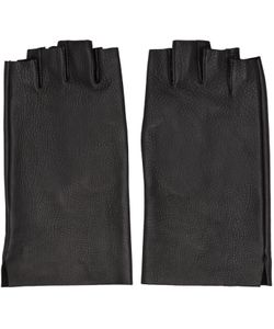 ATTACHMENT | Leather Fingerless Gloves