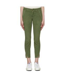 AMO | Green Army Twist Trousers