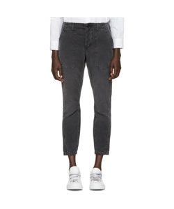 AMO | Black Army Twist Trousers