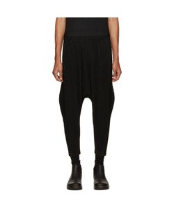 HOMME PLISSE ISSEY MIYAKE | Homme Plissé Issey Miyake Black Pleated Sarouel Trousers