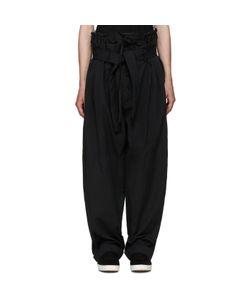 CRAIG GREEN | Black Extreme Pyjama Trousers