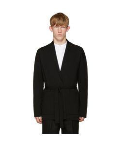 Tomorrowland | Black Wool Kimono Cardigan