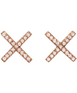 Eva Fehren | And Diamond X Studs