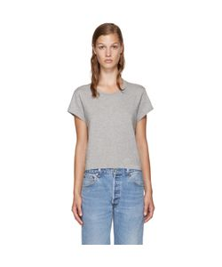 RE-DONE | Grey Hanes Edition 1950s Perfect Boxy T-Shirt