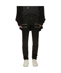Faith Connexion | Black Zip Jeans