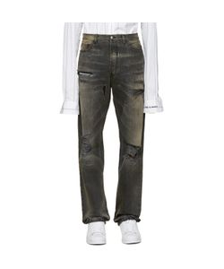 Faith Connexion | Grey Distressed Jeans