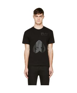 Comme des Gar ons Play | Comme Des Garçons Play Black Upside Down Heart T-Shirt