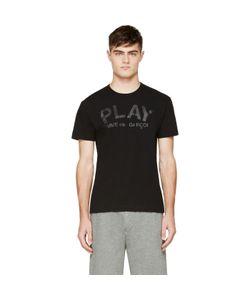 Comme des Gar ons Play | Comme Des Garçons Play Black Logo T-Shirt