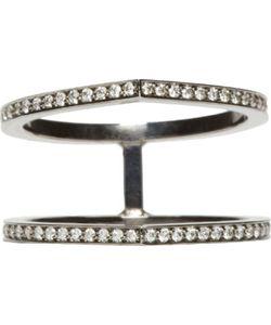 REPOSSI | Pavé Diamond Double Antifer Ring