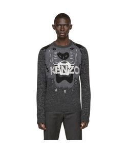 Kenzo | Black And Grey Tiger Sweater