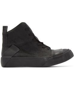 BORIS BIDJAN SABERI | Black Leather Bamba 1 High-Top Sneakers