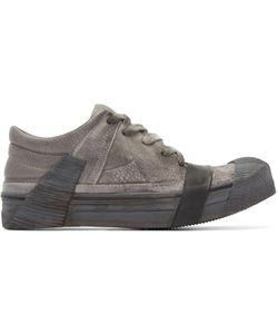 BORIS BIDJAN SABERI | Grey Leather Bamba 3 Sneakers