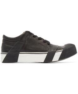 BORIS BIDJAN SABERI | Black Leather Bamba 3 Sneakers