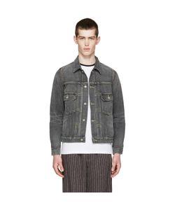 Visvim | Grey Denim Damaged Jacket