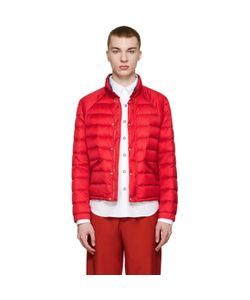 Moncler Gamme Bleu | Red Quilted Down Jacket