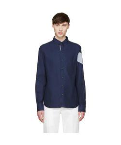 Moncler Gamme Bleu | Navy Oxford Shirt