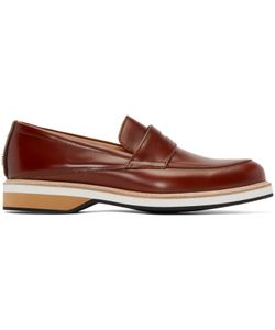 Want Les Essentiels | Brown Leather Marcos Loafers