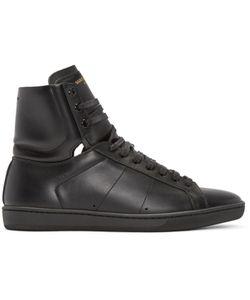 Saint Laurent | Black Sl-01 Court Classic High-Top Sneakers