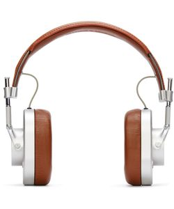 MASTER & DYNAMIC | Master And Dynamic Silver And Brown Mh40 Headphones