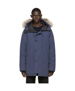 Canada Goose | Navy Down And Fur Spirit Chateau Parka