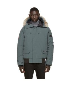 Canada Goose | Green Down And Fur Chilliwack Bomber