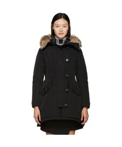 Moncler | Black Down Ariette Coat