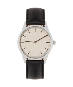 Uniform Wares | Silver And Black C35 Watch