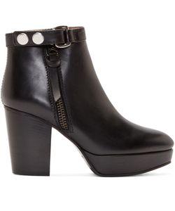 Acne Studios | Leather Orbit Boots
