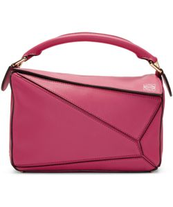 Loewe | Pink Small Puzzle Bag