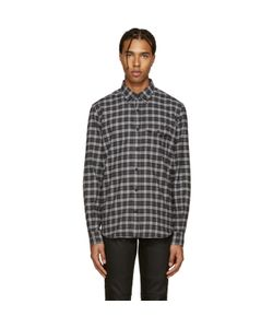 Belstaff | Black And Grey Samuel Check Flannel Shirt