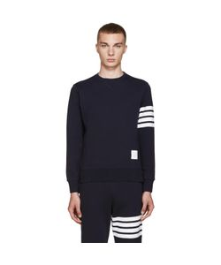 Thom Browne | Navy Classic 4 Bar Pullover
